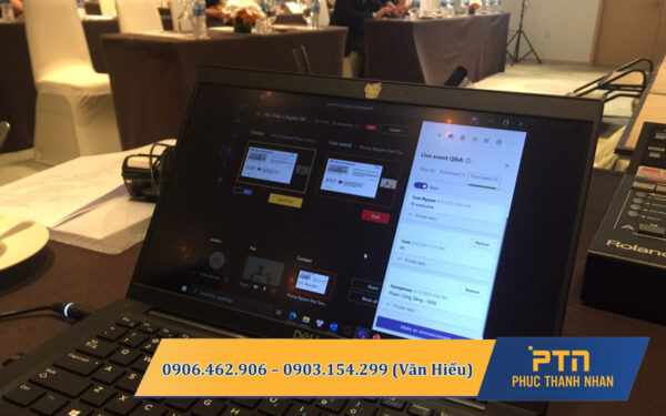 dịch vụ thuê họp trực tuyến tại sài gòn